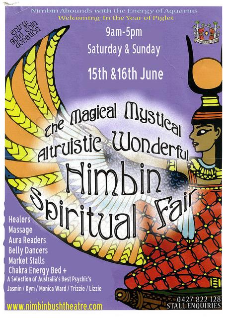 Nimbin Spiritual Festival poster